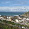 Sea breeze at Portreath in Cornwall