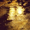 Golden Puddle at Banbury Railway Station