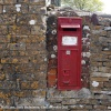 Victorian Wall Postbox, Well Lane, Little Badminton, Gloucestershire 2011