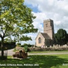Village Green & Church, Littleton Drew, Wiltshire 2015