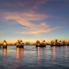 Thames barrier at Dusk