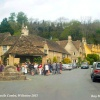The Market Cross & Butter Cross, Castle Combe, Wiltshire 2013