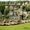 View of the river nibb and viaduct knaresborough