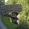 Roving Bridge on the Macclesfield Canal, Sutton, Macclesfield, Cheshire