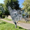 Butterfly Sculpture near the Canal Basin, Chichester