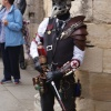 Steampunk On Guard at Lincoln Castle