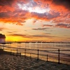 Beneath a Crimson Sky - Saltburn-by-the-Sea