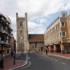 Market Place and St. Laurence's Church, Reading