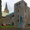 Chichester Cathedral statue
