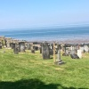 Churchyard by the sea
