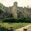 "Laugharne Castle ( near where the drama ""Keeping Faith"" was filmed)"