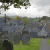 Hartington from the Churchyard, Derbyshire