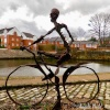 Sculpture, leeds liverpool canal