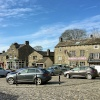 Grassington market place.