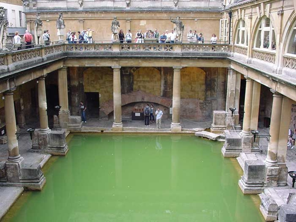 A picture of Roman Baths