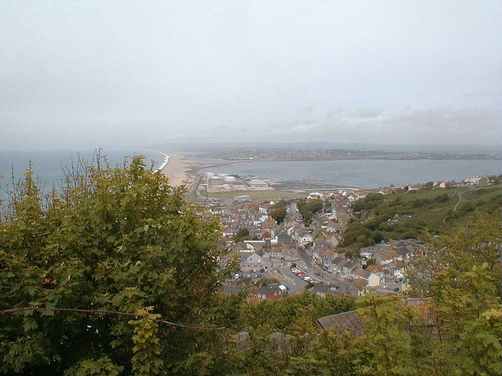 Portland looking toward Chesil