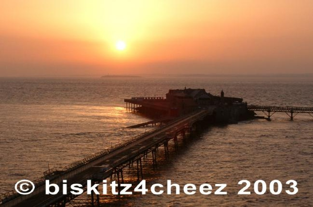 Sunset, Birnbeck Pier,Weston-Super-Mare