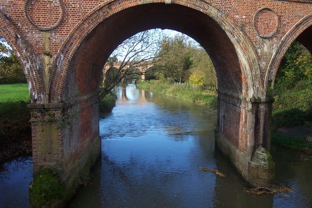 Bridge over the River Mole at Leatherhead