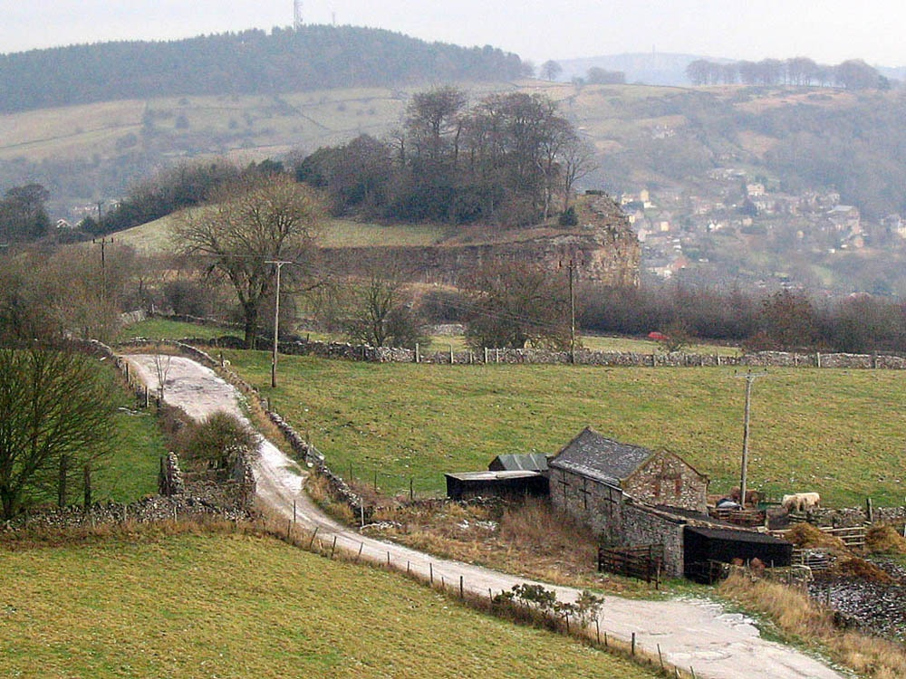 Middleton by Wirksworth, Derbyshire: scene near Middleton Top