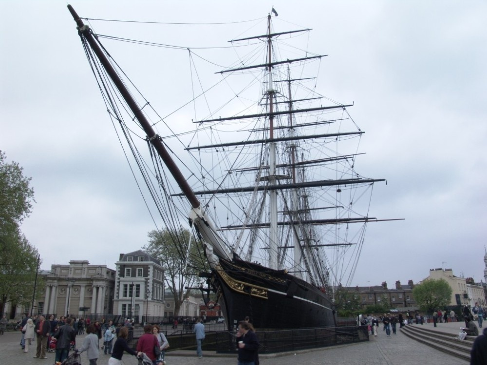 The Cutty Sark Museum Ship, London