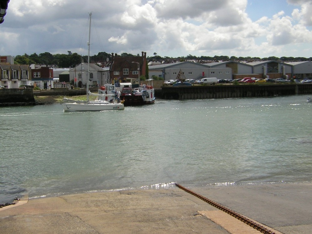 Floating Bridge at Cowes, Isle of Wight