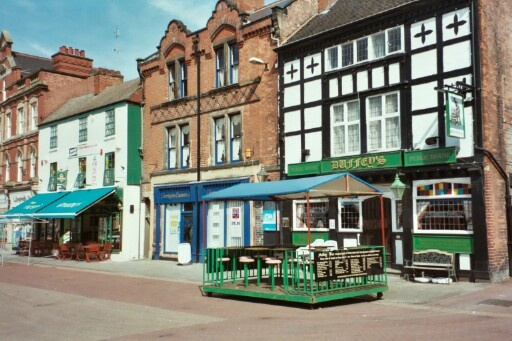 Marketplace houses, Burton-upon-Trent, Staffordshire