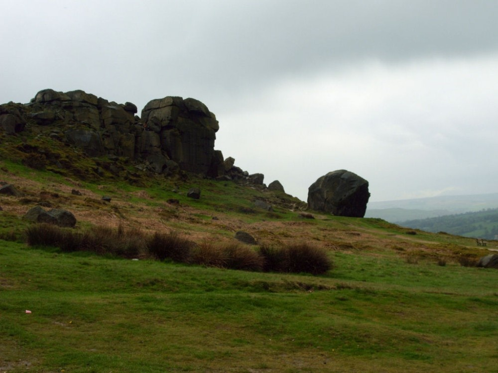 Cow and Calf, Ilkley.