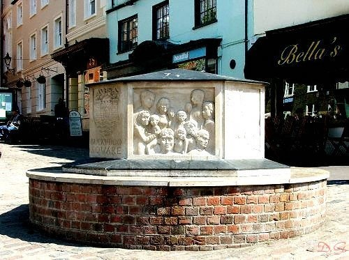 Monument at Buckydoo square, Bridport, Dorset