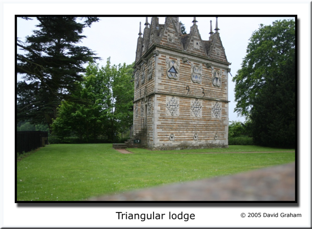 Rushton Triangular Lodge, Northamptonshire
