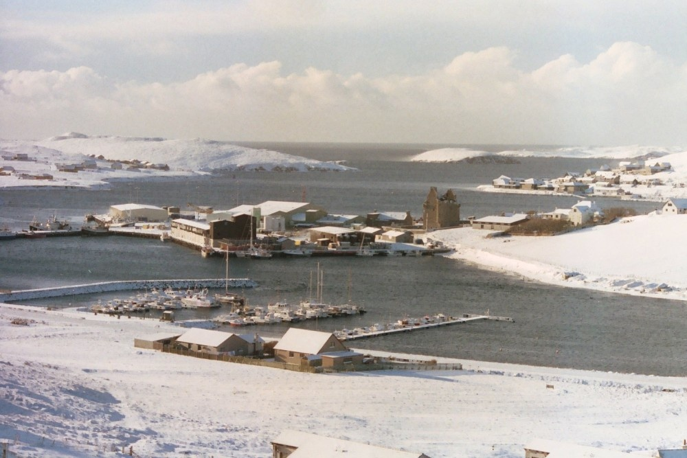 SCALLOWAY IN WINTER