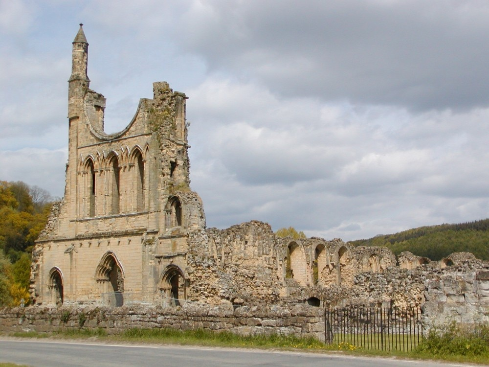 Bylands Abbey, North Yorkshire