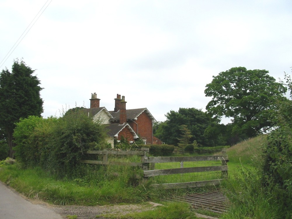 Site of the Claythorpe Railway Station, 2003