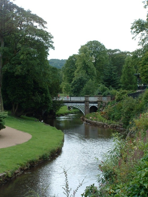 The Pavilion Gardens, Buxton, Derbyshire