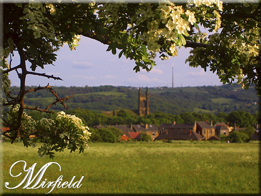 Mirfield (west yorkshire), showing the mirfield church (st mary's)