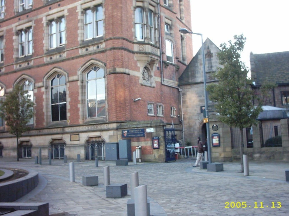 A picture of Chethams Library