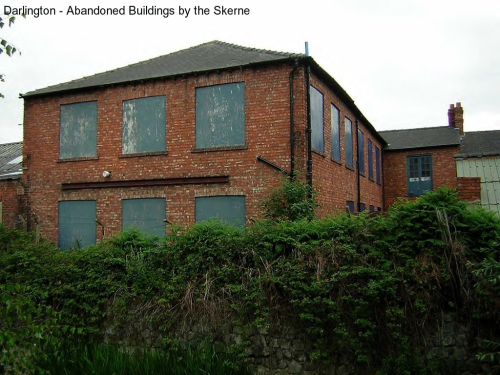 Darlington Abandoned Buildings By The Skerne Wallmrtn Aol At Picturesofengland