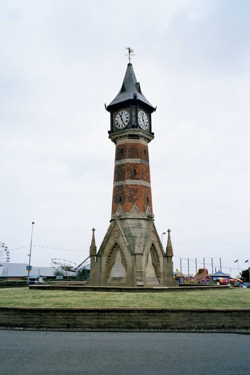 Clock Tower in Skegness - June 2005