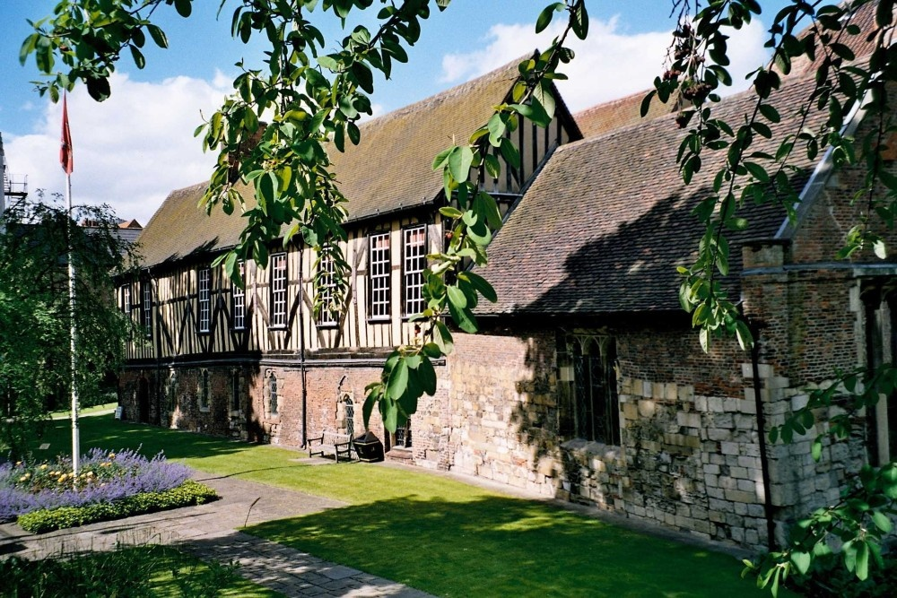 A picture of Merchant Adventurers' Hall