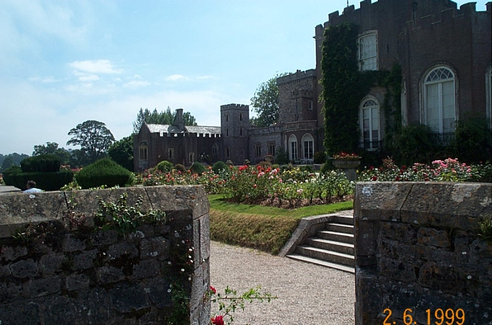 Powderham Castle Gardens July 2005
