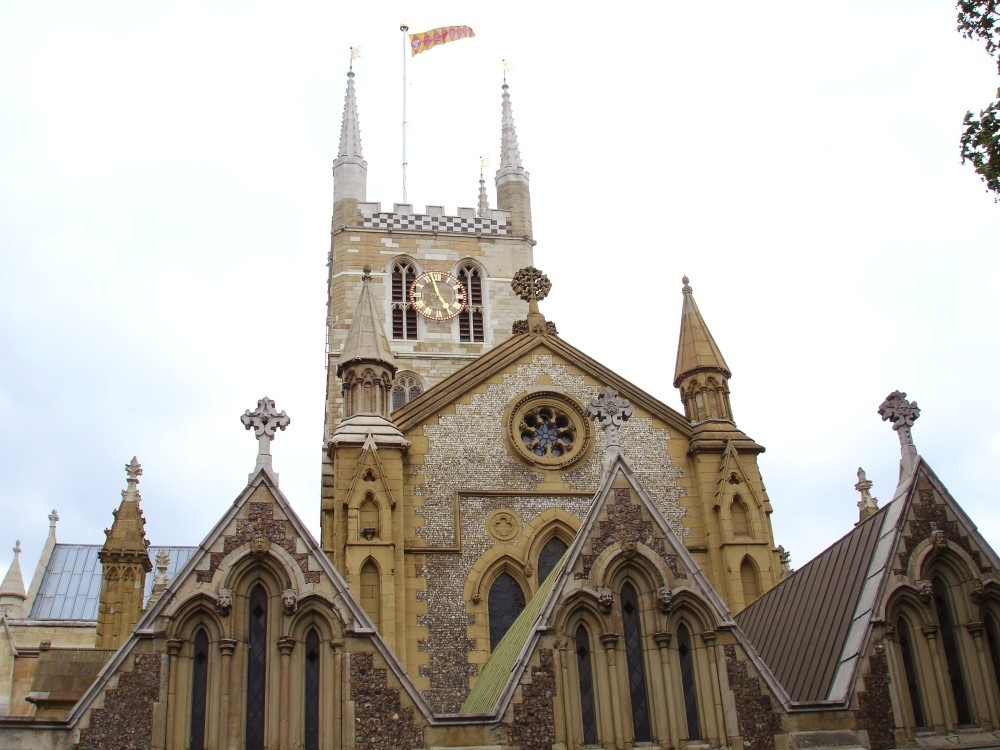Southwark Cathedral, South Bank, London