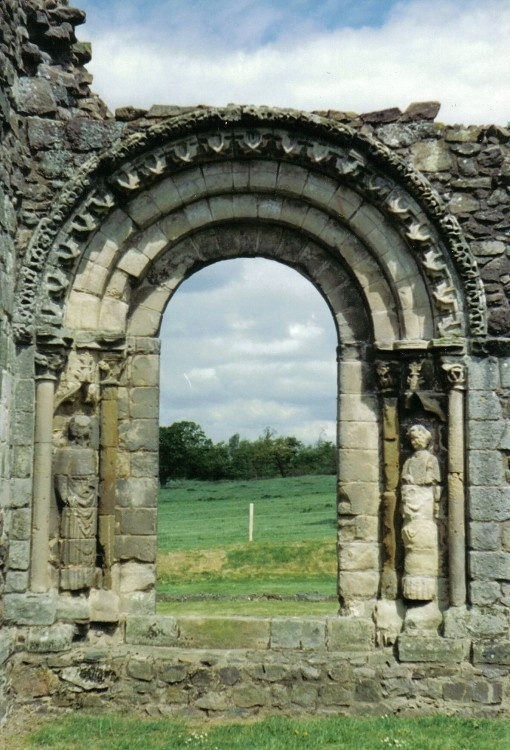 at Haughmond Abbey, Shrewsbury, Shropshire