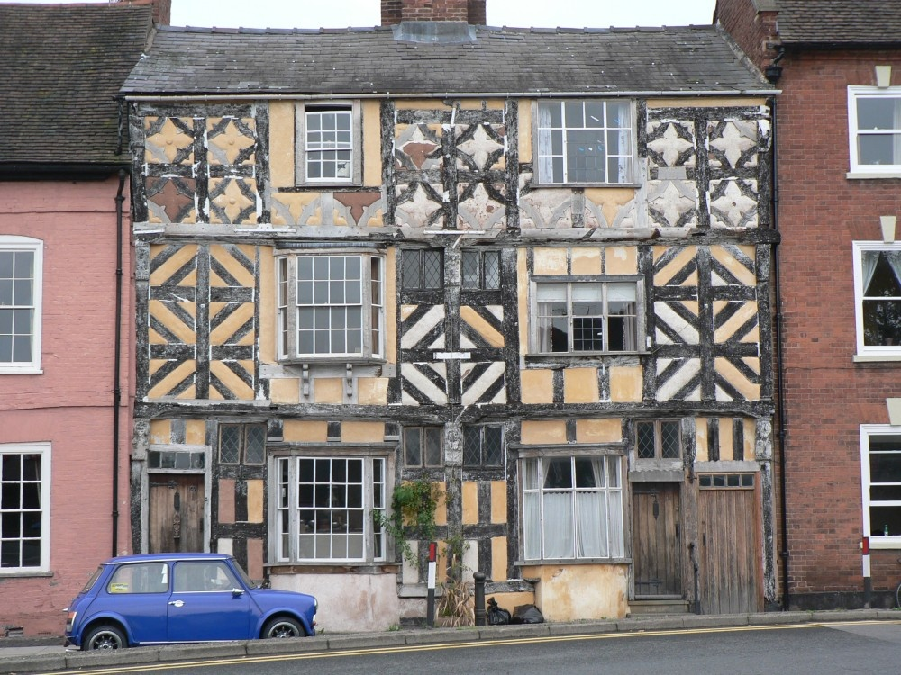 Quot Tudor House In Ludlow Shropshire Quot By Marcie Brooks At