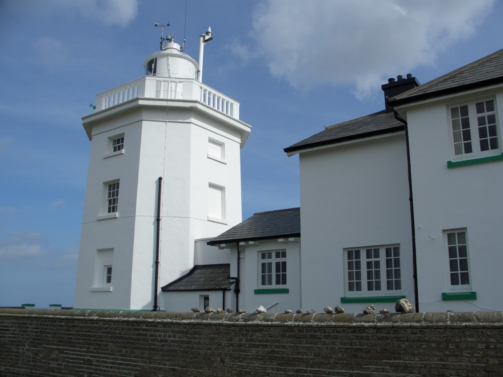 Cromer Lighthouse and cottage
