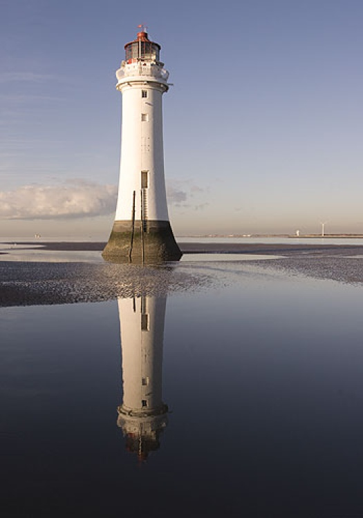 Perch Rock Lighthouse, New Brighton, Wiral, Merseyside