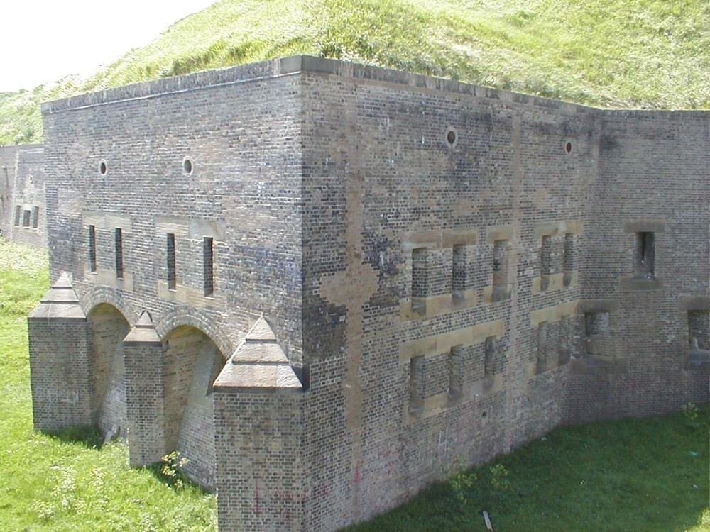 Western Heights Defences in Dover, Kent. - Drop Redoubt Fort - Open 3rd/4th June 2006