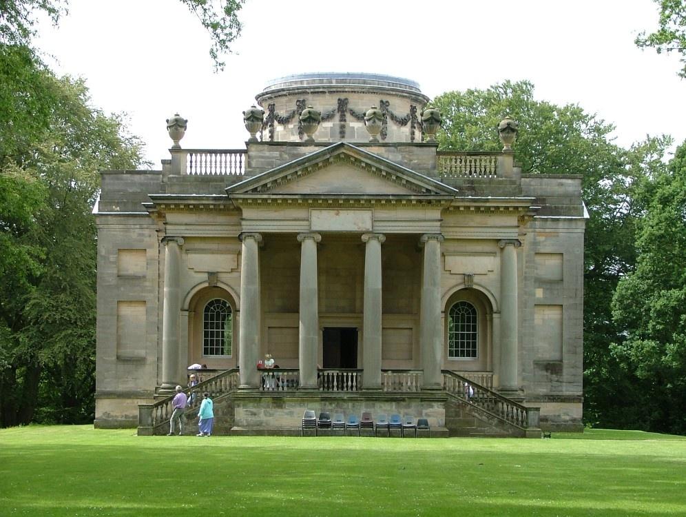 Quot Gibside Chapel National Trust Garden Rowlands Gill