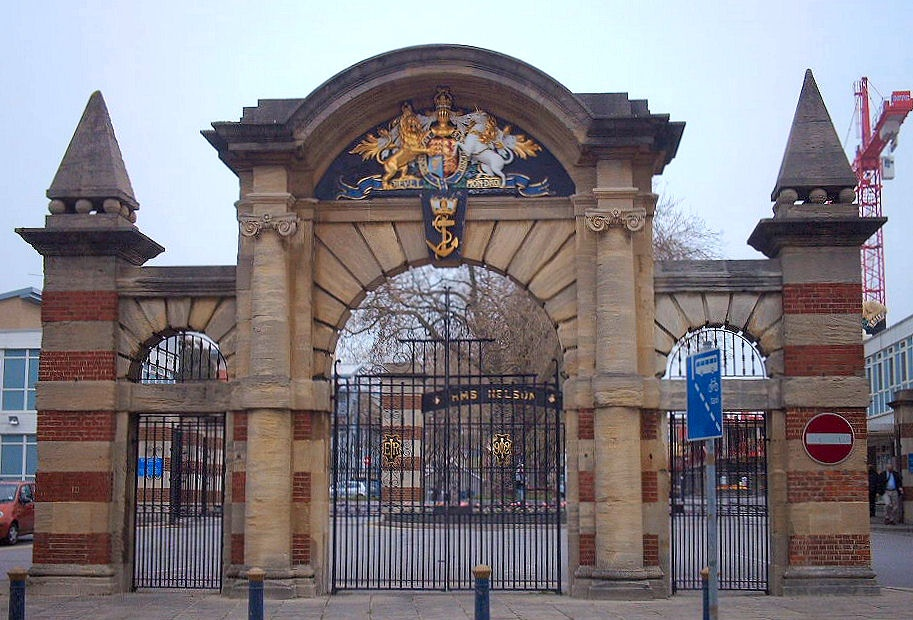 Quot Main Gate To Hms Nelson Naval Base Queens Street