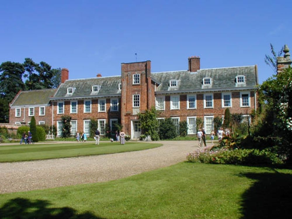 Harrington Hall near Spilsby in Lincolnshire.