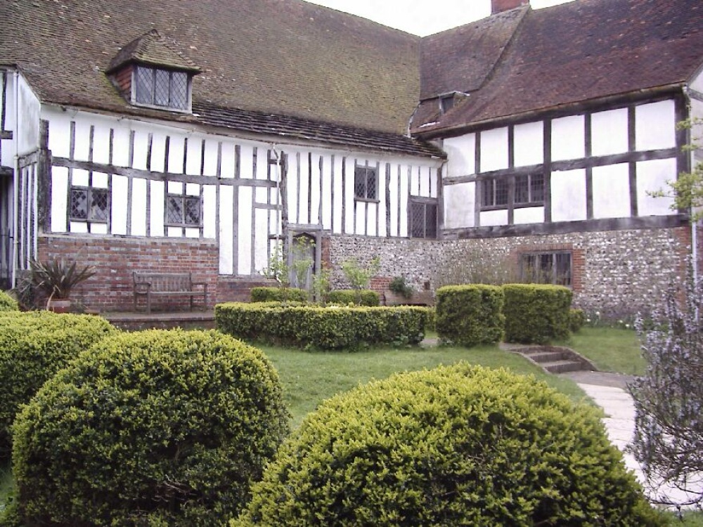 Anne of Cleves House in Lewes, East Sussex. Taken in 2005.