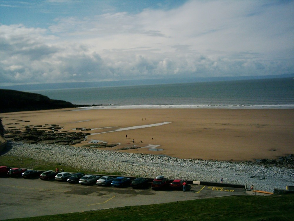 Southerndown Beach, Vale Of Glamorgan. August 2004
